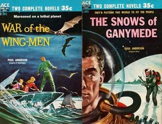 Men in the snows